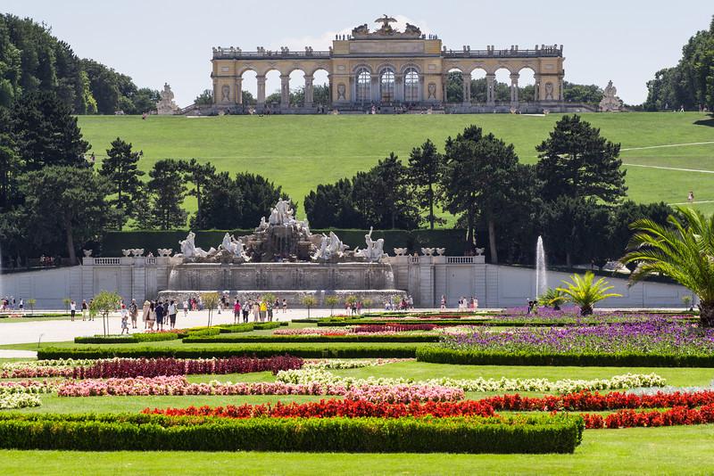 Gloriette, Schloss Schonbrunn, Vienna