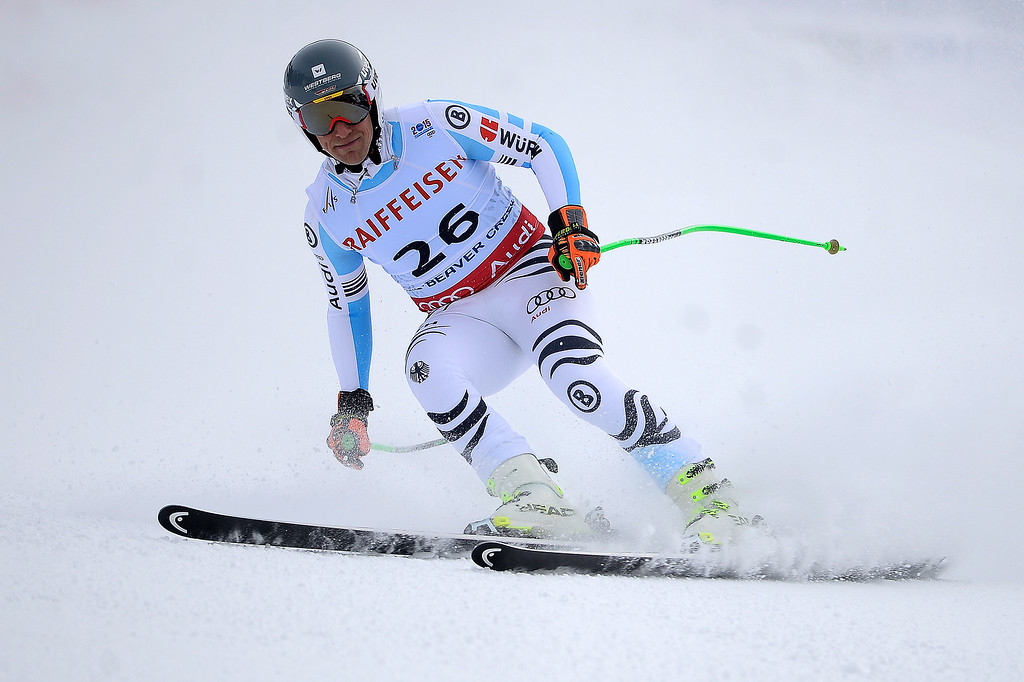 . BEAVER CREEK, CO - FEBRUARY 03: Josef Ferstyl of Germany competes during the the men\'s downhill training. FIS Alpine World Ski Championships 2015 on Tuesday, February 3, 2015. (Photo by AAron Ontiveroz/The Denver Post)