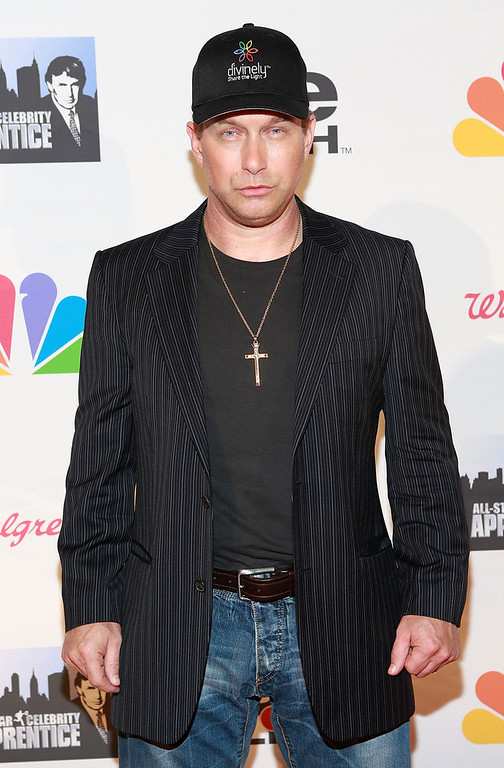 """. Stephen Baldwin attends \""""All Star Celebrity Apprentice\"""" Finale at Cipriani 42nd Street on May 19, 2013 in New York City.  (Photo by Robin Marchant/Getty Images)"""