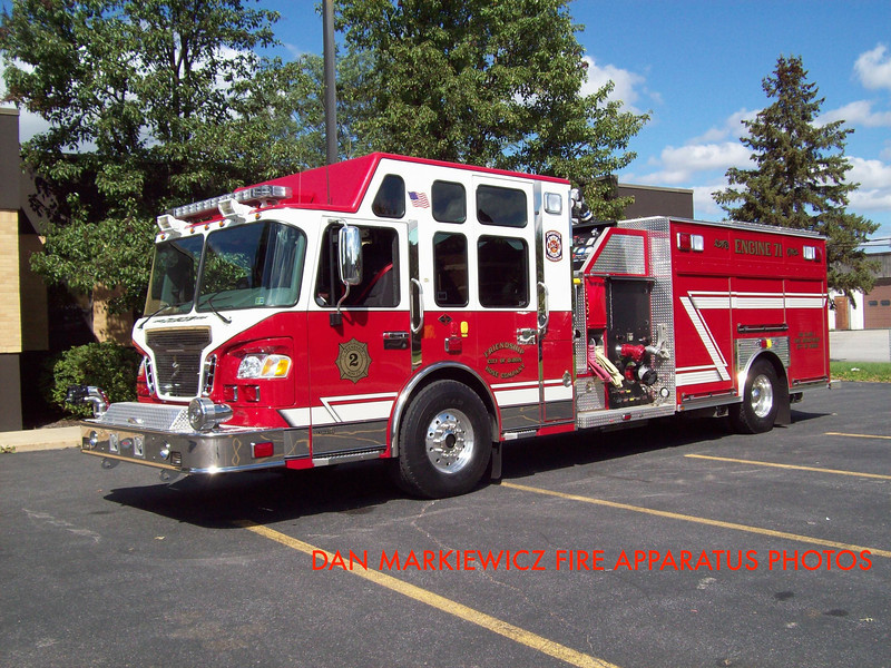 FRIENDSHIP HOSE CO. DUBOIS ENGINE 71 2008 SPARTAN/PRECISION PUMPER