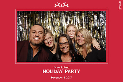 December 1, 2017 - GreenRubino Holiday Party