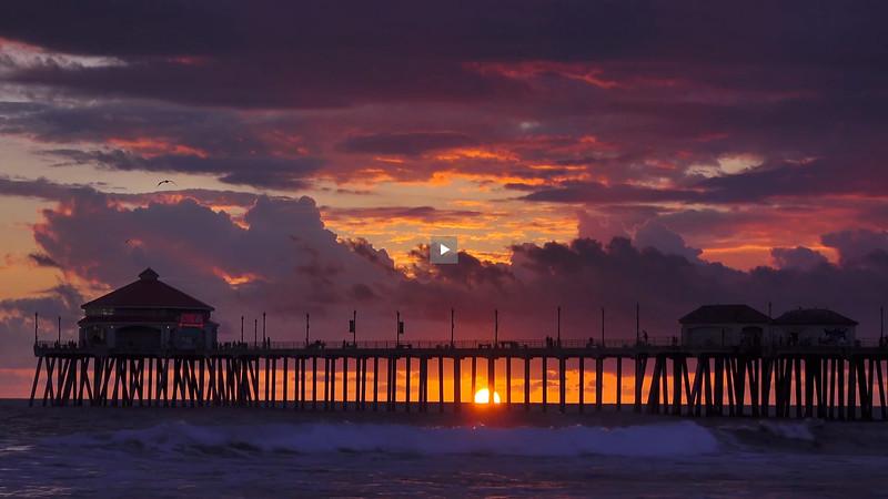 HB Pier 4K Sunset 03 4K.mp4
