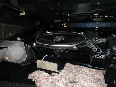 2013 Toyota Camry SE Rear Deck Speaker Installation - USA