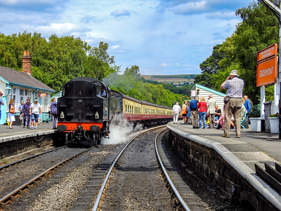 North Yorkshire Moors Railway to Whitby