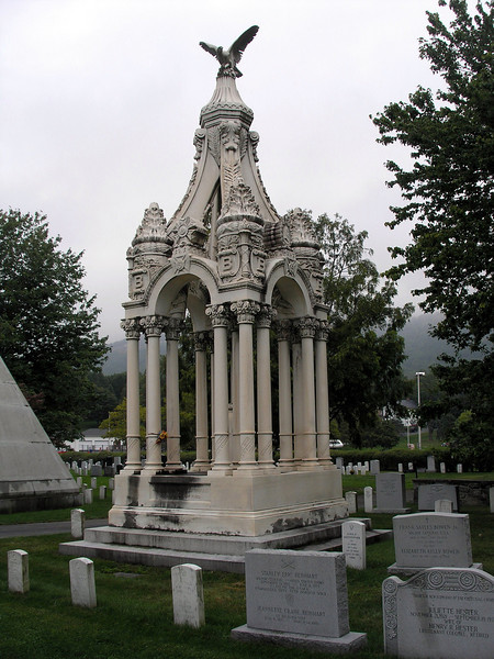 Monument in USMA Cemetery