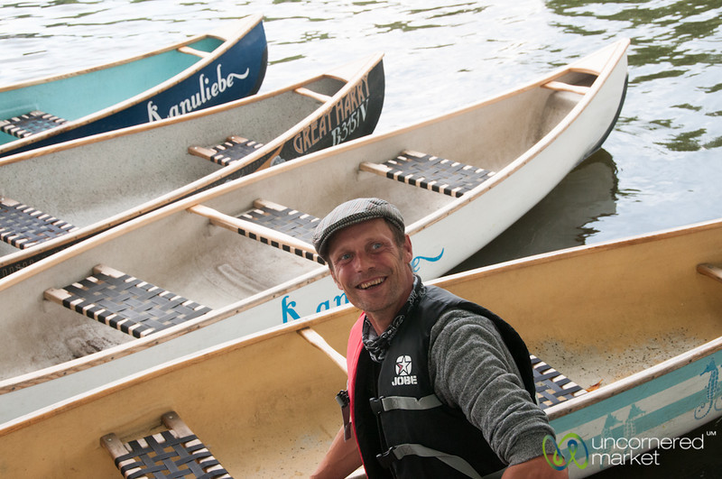 Canoe Tour of Berlin - Treptow
