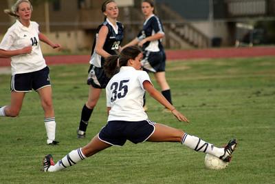 Landmark Varsity Girls Soccer vs Whitefield 4-10-06