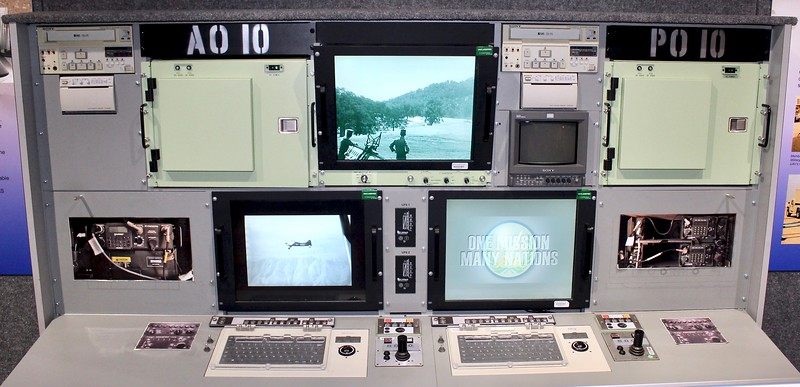 Early model drone control display (2019)