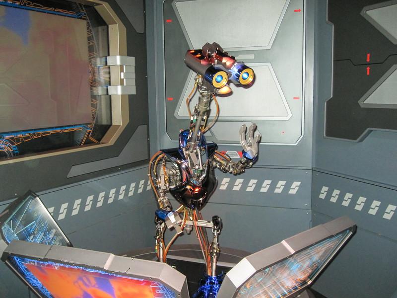 2014.10.21 - Disneyland. Star Tours Ride.
