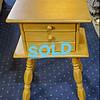 Vintage 3-Drawer Side Table