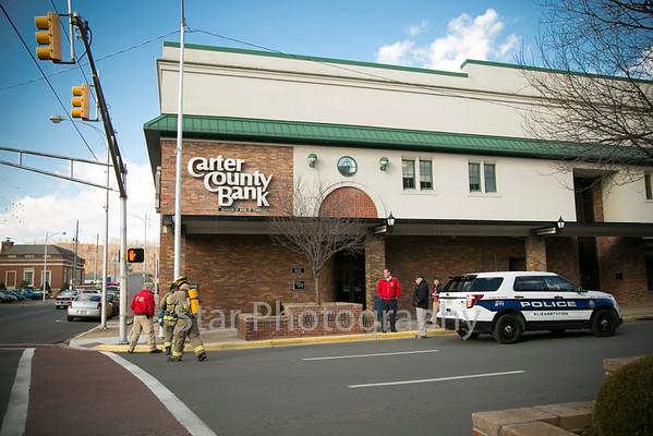 Bomb Threat At Carter County Bank 01-30-15
