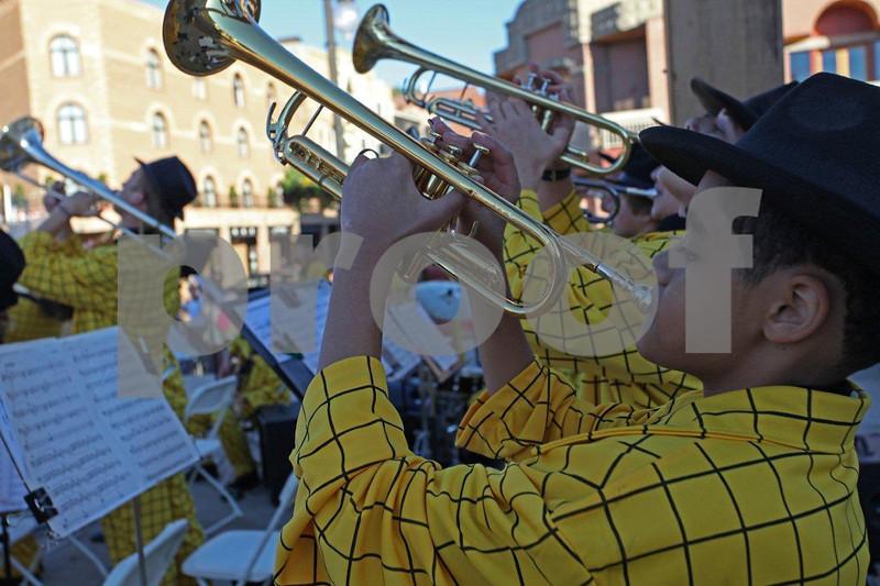 """Park City high school band"" , 0078"