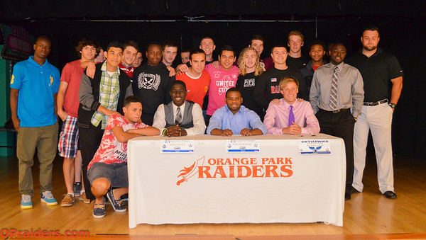 College Signing: Soccer