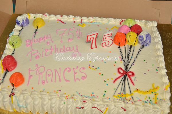 Fran's 75th