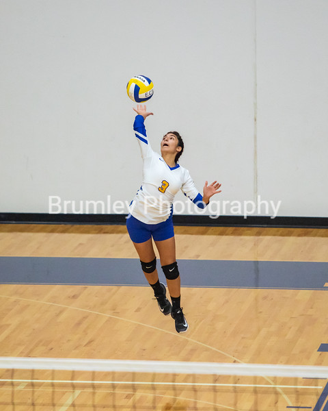HS Volleyball vs Gibson County 9-24-18