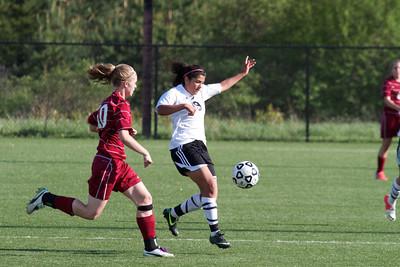 2013, May 16, JV Girls Soccer vs.Grandville