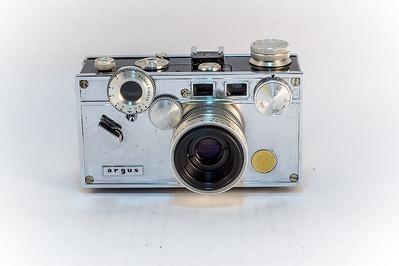 Argus C3 Chrome, 1940