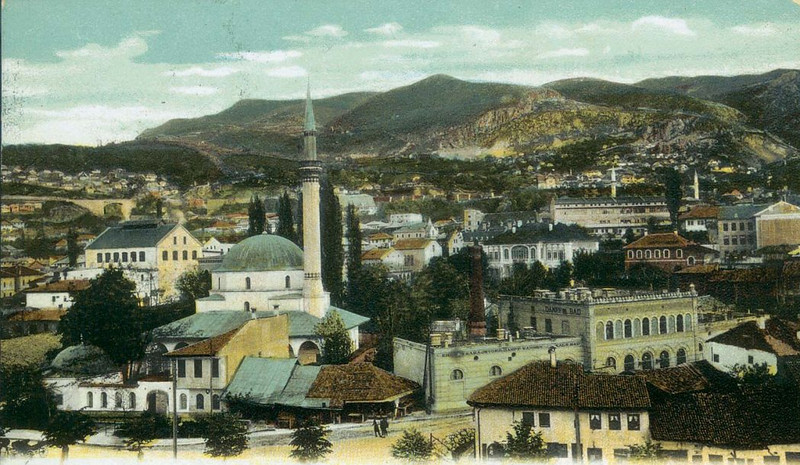 Pogled na Bistrik početkom prošlog vijeka