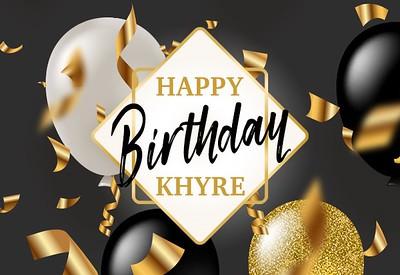 Khyre's Sweet Sixteen!