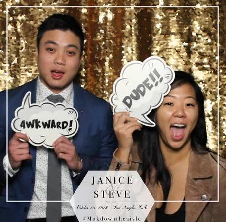 Boomerangs  & GIFs - Steve & Janice's Wedding