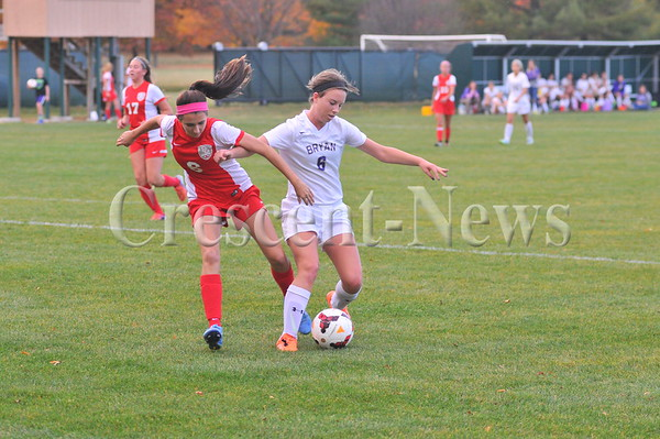 10-22-15 Sports Bowling Green @ Bryan Girsl sectional soccer