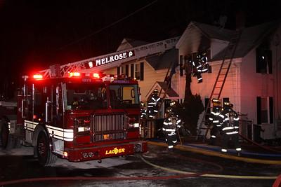 Melrose, MA - 2nd Alarm, 18 Lynde Street, 1-26-13
