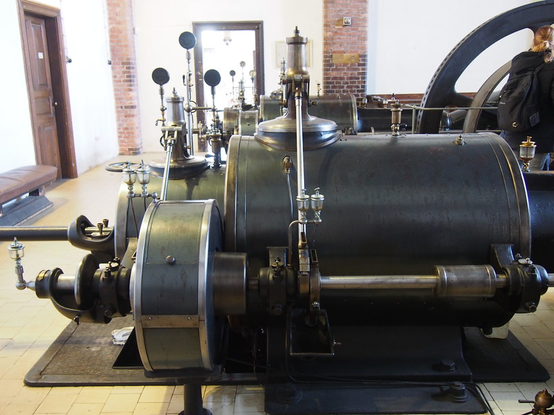 Steam engine from 1903.