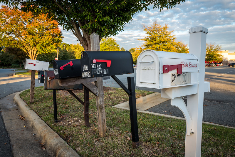 Mailboxes in Cary, NC