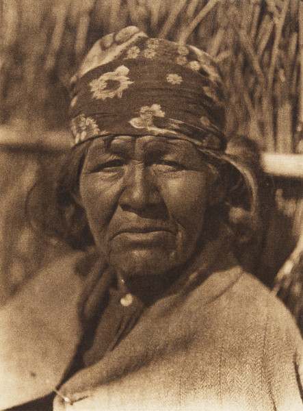 A Capitan Grande woman - Digueño (The North American Indian, v. XV. Norwood, MA, The Plimpton Press, 1926)