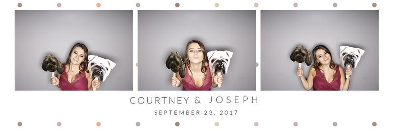 Courtney & Joseph (photo strips)