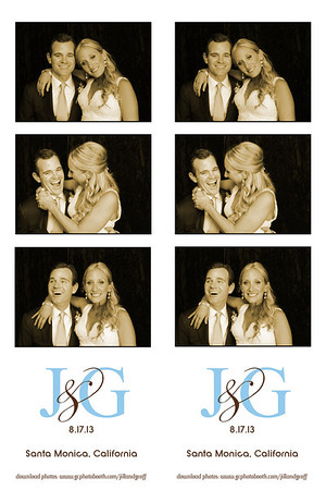 Jill and Geoff's Wedding Photo Booth Prints