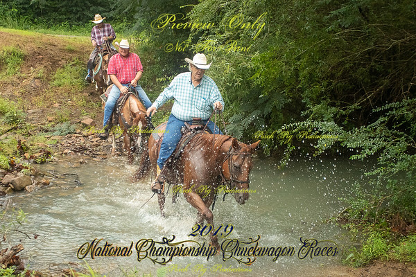 Returning from Horse Round up