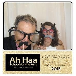 Ah Haa NYE Gala 2015