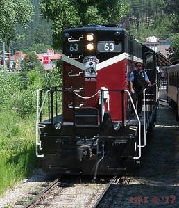 2017 - 1880 Train - Keystone, SD to Hill City, SD