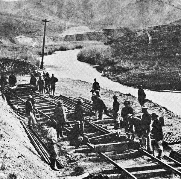 1876, Railroad Construction