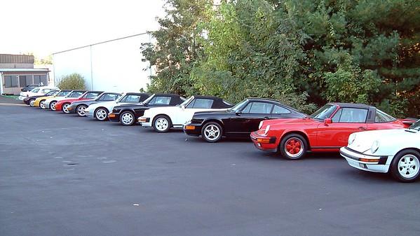 September 26, 2004:  Daniel Schmitt Classic Car Gallery, St. Louis, Missouri .  .  .