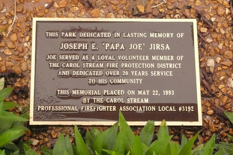 Jirsa Park Marker.jpg