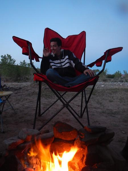 Base Camp 26 miles south of Hanksville, UT