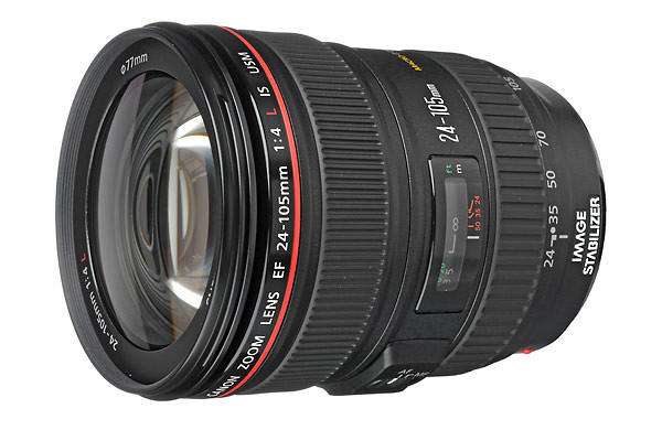 Canon 24-105mm f/4L IS EF USM AF Lens