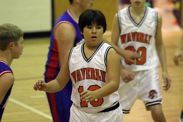 waverly jrhi basketball season 2007/08