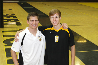 2013 GHS Boys Volleyball Program Pictures
