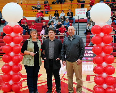 Mississinewa Senior Night vs Bluffton  2-16-19