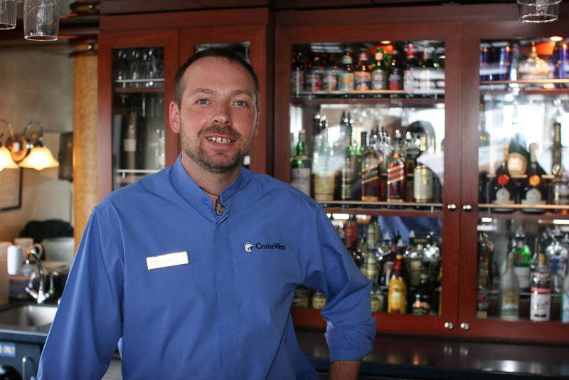 Ernie the Bartender - everyone's friend