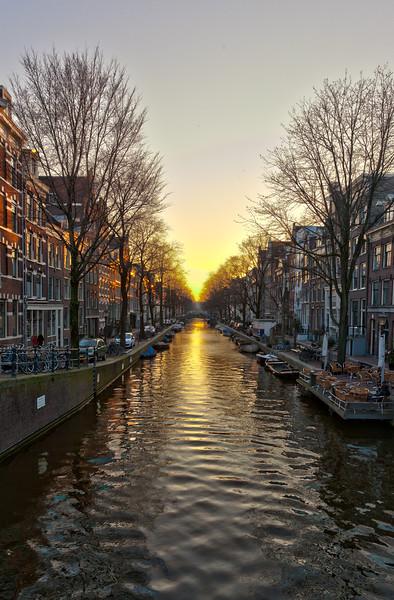 London, Bruges & Amsterdam