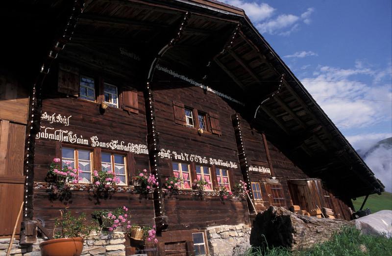 ausserhalb Lenk (Hahnenmoos), Berneroberland, CH (Switzerland)
