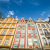 Colorful Gables, Wrocław, Poland