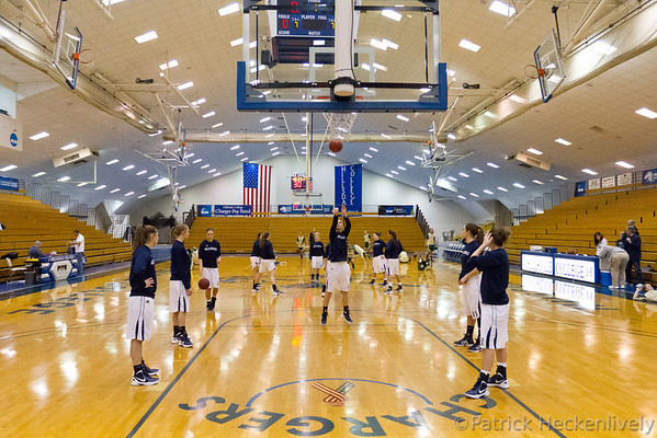 2012-01-07 Hillsdale College Women's Basketball vs. Tiffin
