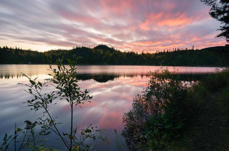 Sunrise in Québec