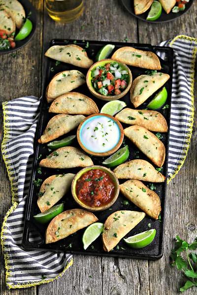 Potato Air Fryer Tacos - Vegan Mexican recipes