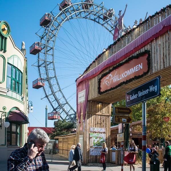 Prater amusement park, home of Octoberfest